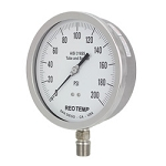Unfilled Pressure Gauge